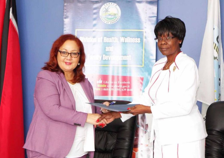 FPATT signs MOU with the Tobago House of Assembly (THA)
