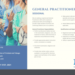 GENERAL PRACTITIONERS (Sessional) We are seeking a experienced General Practitioners (GPs) with exceptional professional skills and knowledge to provide a high standard of primary and continuing medical care to our patients.